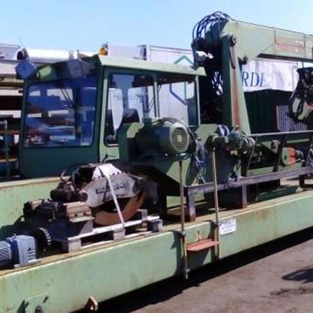 Wózek Do Sortowania I Manipulacji Drewna